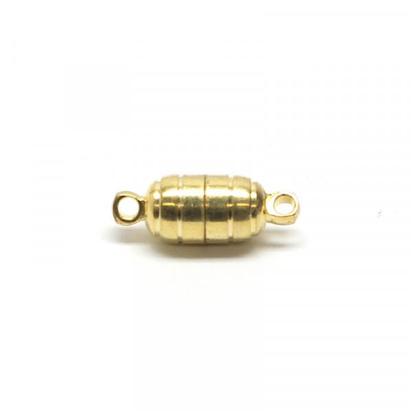 Magnetverschluss, 5,5x10 mm, goldfarben