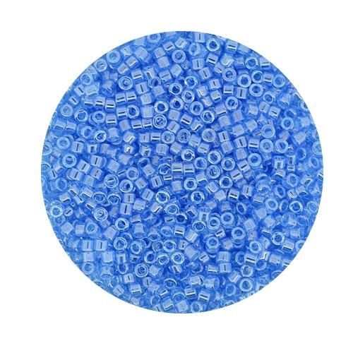 Miyuki Delicas, 11/0 (2,0mm), 9gr. Dose,light blue luster