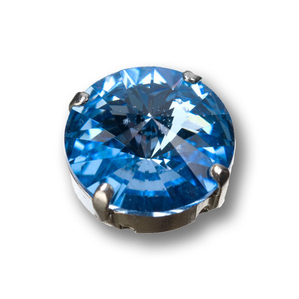 Swarovski Rivoli, 14 mm, light safir