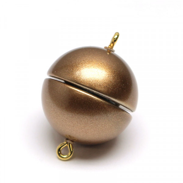 Magnetverschluss, 18mm, bronze