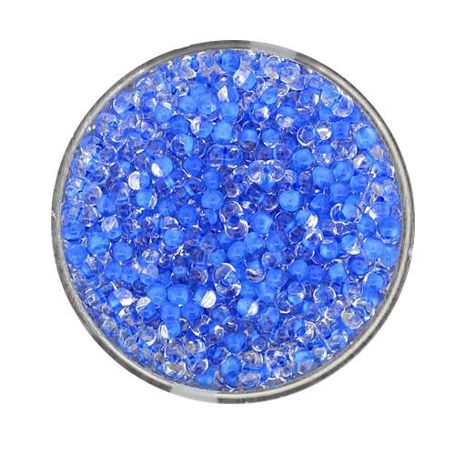Farfalle, Farbeinzug glanz, 4 mm, 17gr Dose, kristall-blau