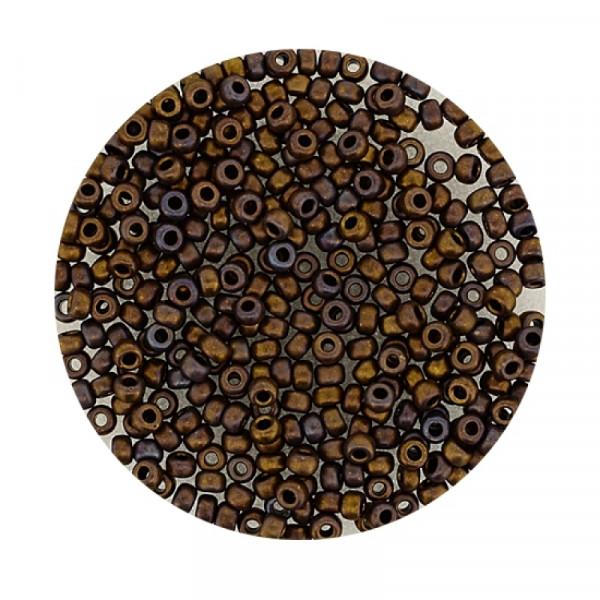 Miyuki Rocailles 2,2 mm - brown irisierend