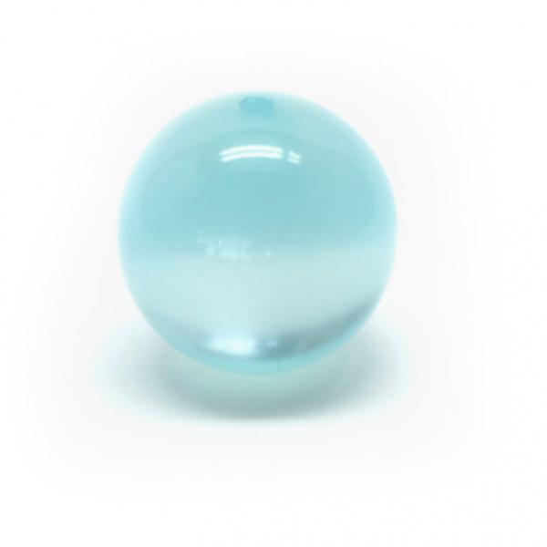Polaris Rundperle, glänzend, 8 mm, aqua