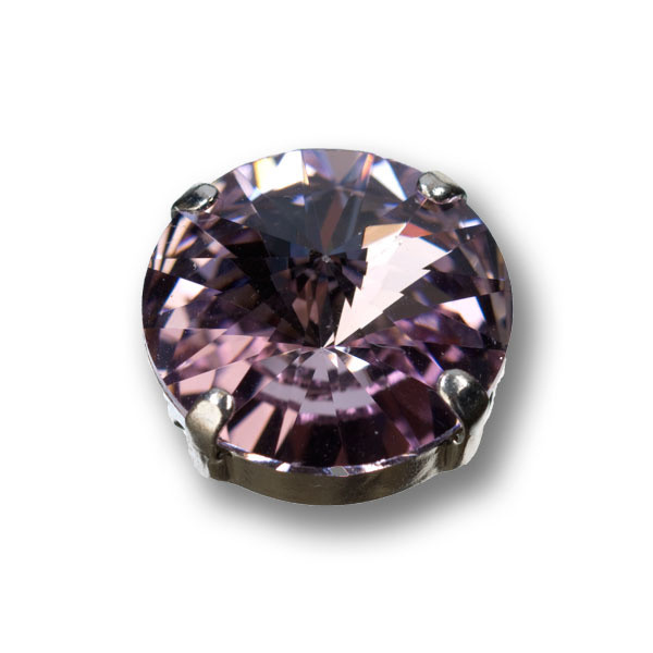 Swarovski Rivoli, 14 mm, light amethyst