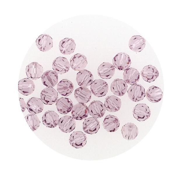 Swarovski Glasperlen, 4 mm, 5 Stück,chrysolite