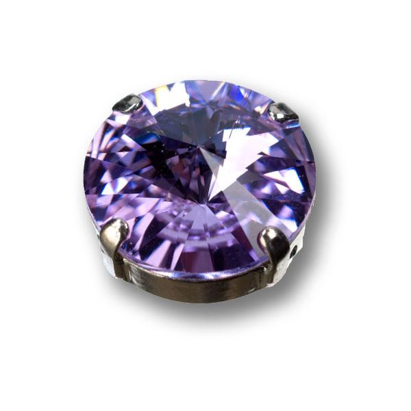 Swarovski Rivoli, 14 mm, violet