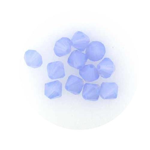 Swarovski Doppelkegel, 6 mm, 12 Stück,air blue opal