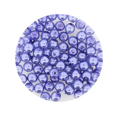 Pearl Renaissance, 4mm, 100 Stück, flieder