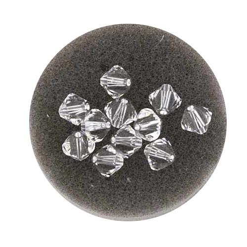 Swarovski Doppelkegel, 8 mm, 5 Stück,crystal