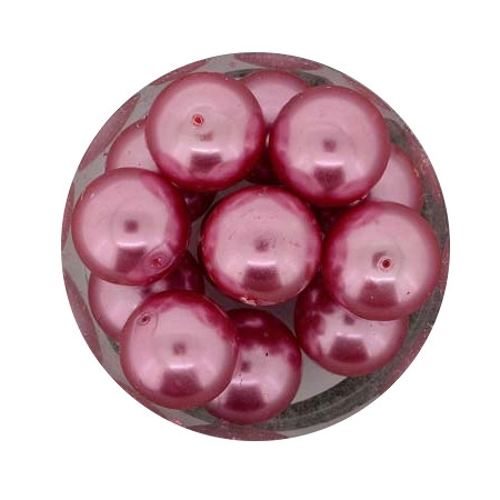 Pearl Renaissance, 12mm, 14 Stück, rosa