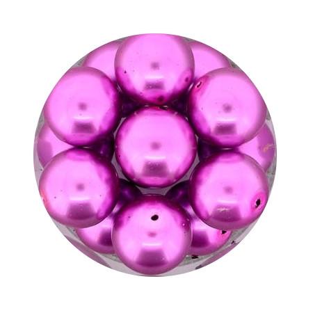 Pearl Renaissance, 12mm, 14 Stück, pink
