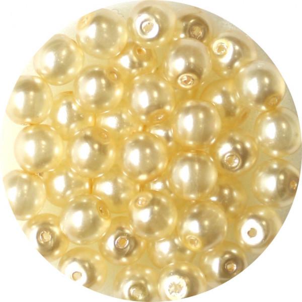 Crystal Pearl Renaissance, 6mm, 40 Stück, kultur