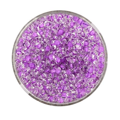 Farfalle, Farbeinzug glanz, 4 mm, 17gr Dose,kristall-lila