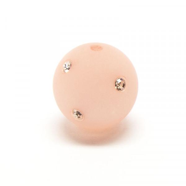 Polaris Strassperlen, 10mm, rosa