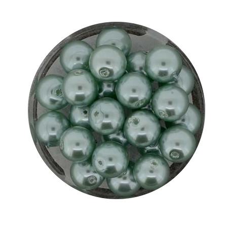 Pearl Renaissance, 8mm, 25 Stück, türkis