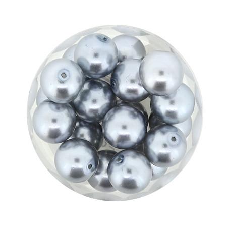 Pearl Renaissance, 10mm, 20 Stück, hellblau