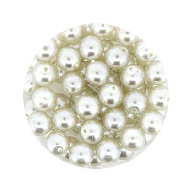 Pearl Renaissance, 6mm, 55 Stück, hellgrau