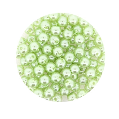 Pearl Renaissance, 4mm, 100 Stück, hellgrün