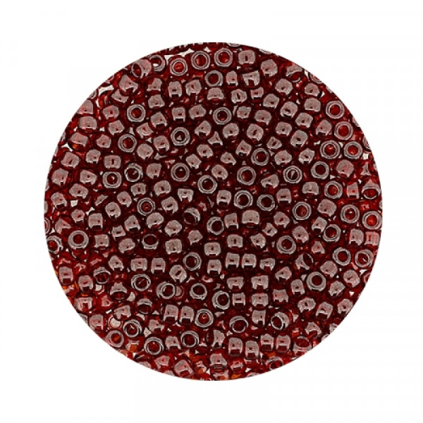 Miyuki Rocailles 2,2 mm - trans. luster wine red
