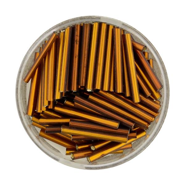 Glasstift, Silbereinzug, 15 mm, 17gr. Dose, rost
