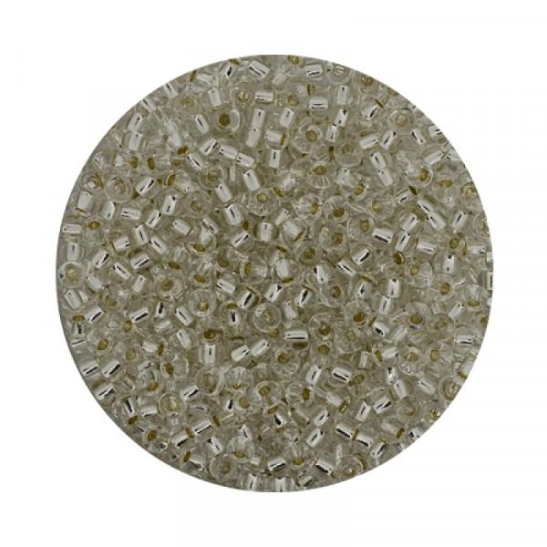 Miyuki Rocailles 2,2 mm - silverlined crystal
