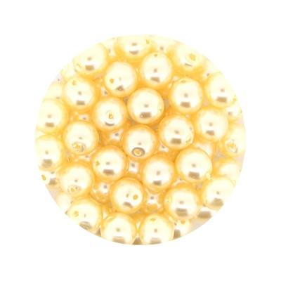 Pearl Renaissance, 6mm, 55 Stück, hell apricot