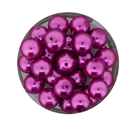 Pearl Renaissance, 8mm, 25 Stück, pink
