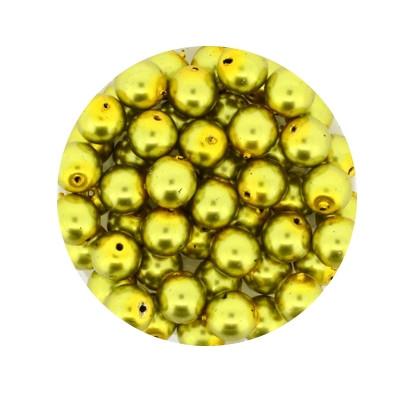 Pearl Renaissance, 6mm, 55 Stück, oliv