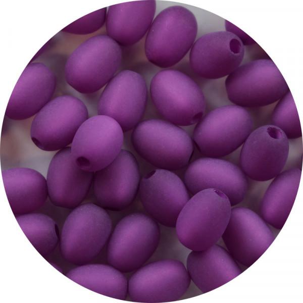 Polaris Olive, 9x6mm, lila