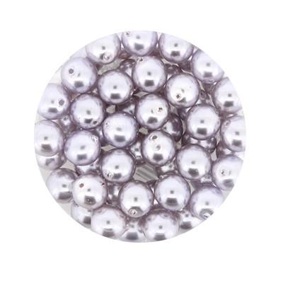 Pearl Renaissance, 6mm, 55 Stück, flieder