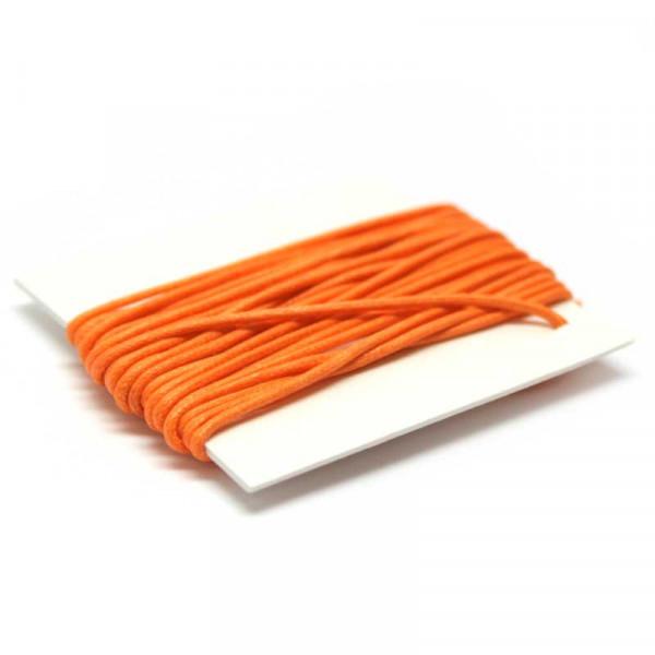 Baumwollkordel, 3 m, 1 mm, orange