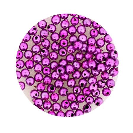 Pearl Renaissance, 3mm, 120 Stück, pink