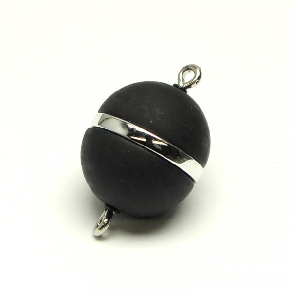 Power-Magnetverschluss, 15 mm, schwarz matt-platin