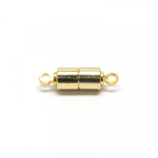 Magnetverschluss, 5x12 mm, goldfarben